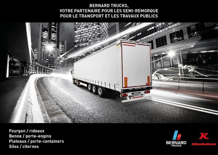 Bernard Trucks votre partenaire pour les Semi-remorque