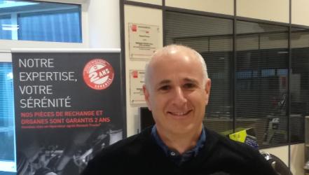 Notre Super Héros de la maintenance : Stéphane CORNET
